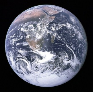 big blue marble planet earth